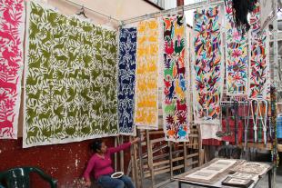 Shopping in San Miguel de Allende, Mexico