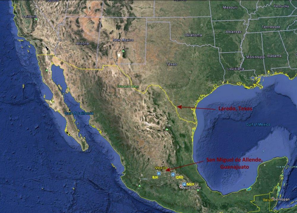 Where is San Miguel de Allende Guanajuato Mexico