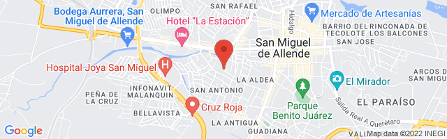 Property 2507 Map in San Miguel de Allende