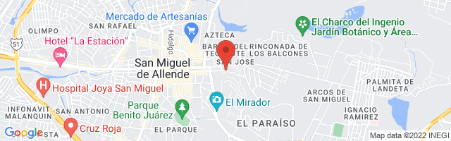 Property 2740 Map in San Miguel de Allende