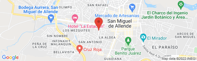 Property 2795 Map in San Miguel de Allende