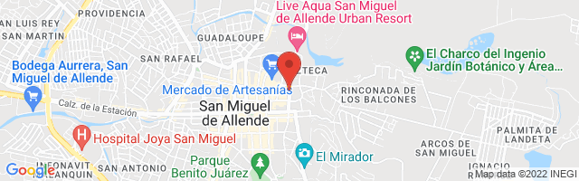 Property 2831 Map in San Miguel de Allende