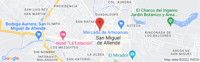 Property 3106 Map in San Miguel de Allende