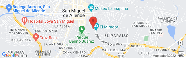 Property 3175 Map in San Miguel de Allende