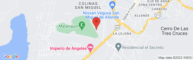 Property 3224 Map in San Miguel de Allende