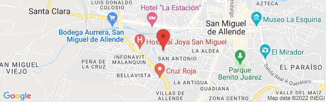 Property 3230 Map in San Miguel de Allende