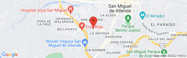 Property 3251 Map in San Miguel de Allende