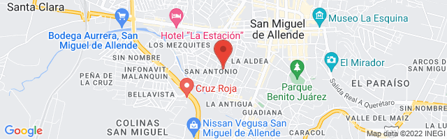Property 3284 Map in San Miguel de Allende