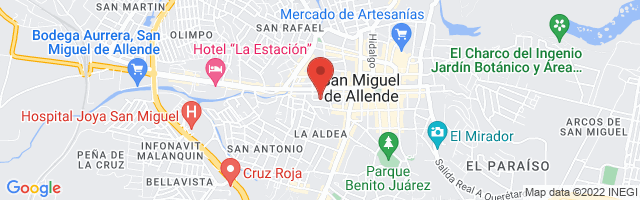 Property 3333 Map in San Miguel de Allende