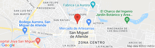 Property 3342 Map in San Miguel de Allende