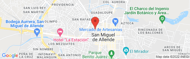 Property 3385 Map in San Miguel de Allende
