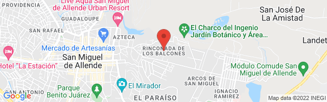 Property 3395 Map in San Miguel de Allende