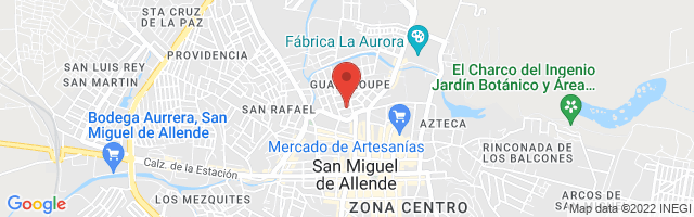Property 3399 Map in San Miguel de Allende