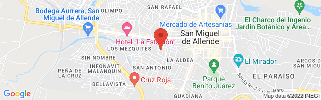 Property 3463 Map in San Miguel de Allende