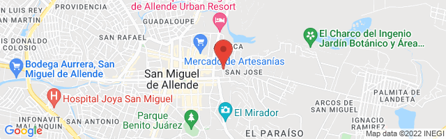 Property 3491 Map in San Miguel de Allende