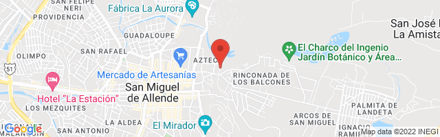 Property 3508 Map in San Miguel de Allende