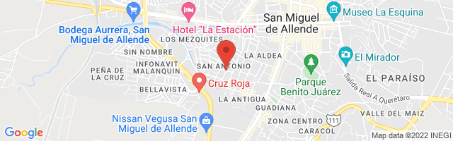 Property 3513 Map in San Miguel de Allende