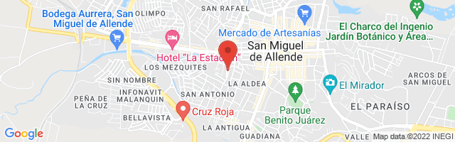Property 3520 Map in San Miguel de Allende