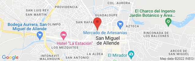 Property 3526 Map in San Miguel de Allende