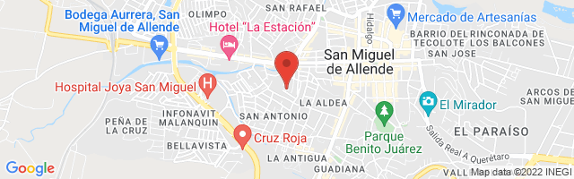 Property 3531 Map in San Miguel de Allende