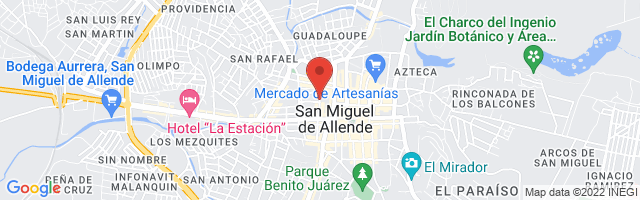 Property 3544 Map in San Miguel de Allende