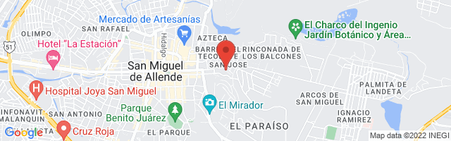 Property 3572 Map in San Miguel de Allende