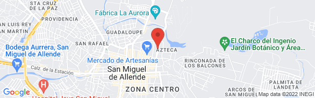 Property 3576 Map in San Miguel de Allende