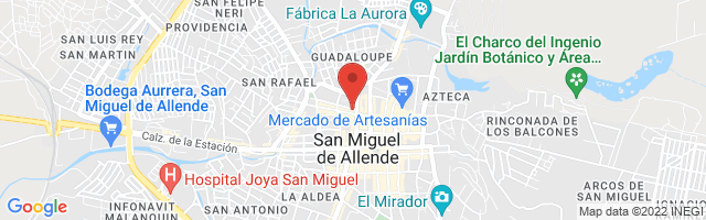 Property 3604 Map in San Miguel de Allende