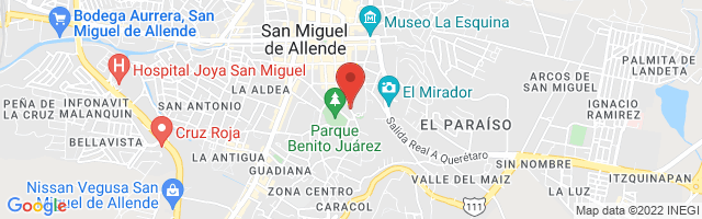 Property 3605 Map in San Miguel de Allende