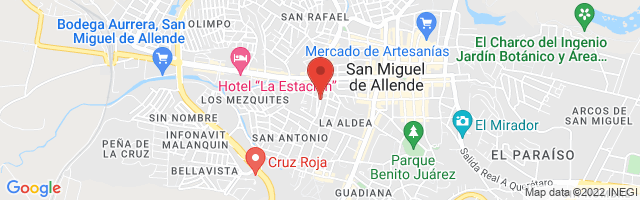 Property 3636 Map in San Miguel de Allende