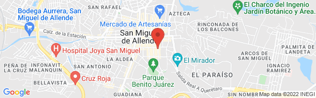 Property 3643 Map in San Miguel de Allende