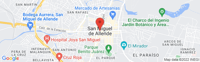 Property 3681 Map in San Miguel de Allende