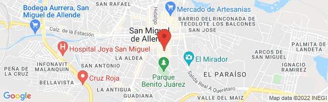 Property 3693 Map in San Miguel de Allende