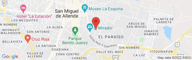 Property 3699 Map in San Miguel de Allende