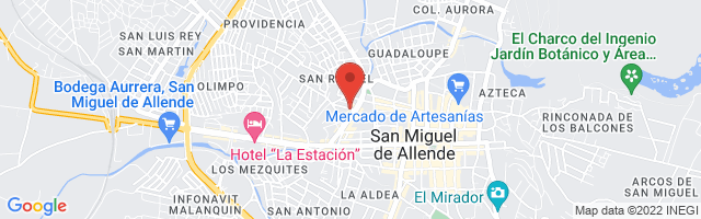 Property 3721 Map in San Miguel de Allende