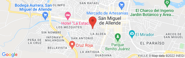 Property 3731 Map in San Miguel de Allende