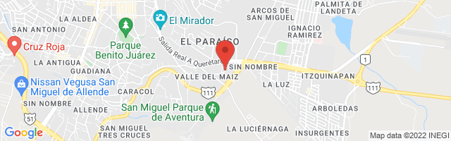 Property 3755 Map in San Miguel de Allende