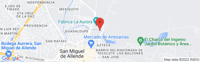 Property 3790 Map in San Miguel de Allende