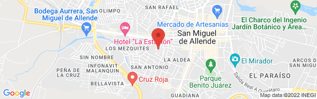 Property 3800 Map in San Miguel de Allende