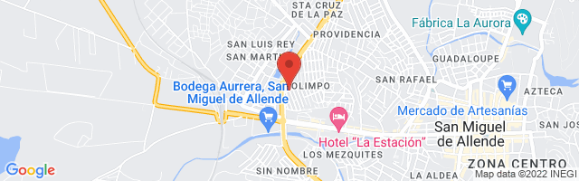 Property 3806 Map in San Miguel de Allende