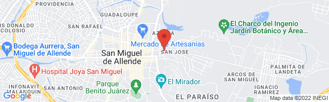 Property 3826 Map in San Miguel de Allende