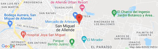 Property 3856 Map in San Miguel de Allende