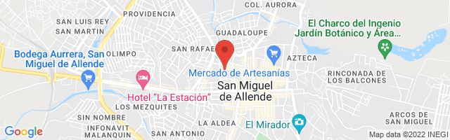 Property 3863 Map in San Miguel de Allende