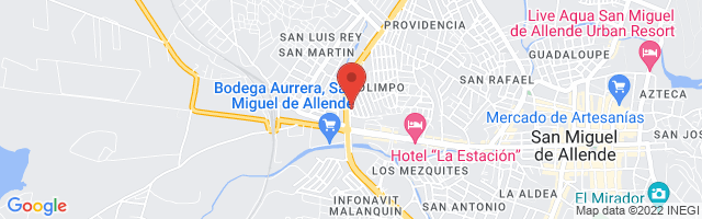 Property 3867 Map in San Miguel de Allende