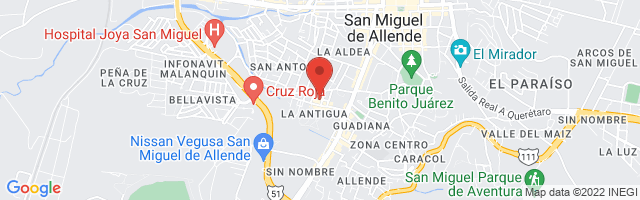 Property 3871 Map in San Miguel de Allende
