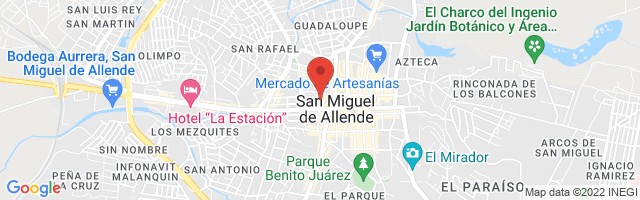 Property 3874 Map in San Miguel de Allende