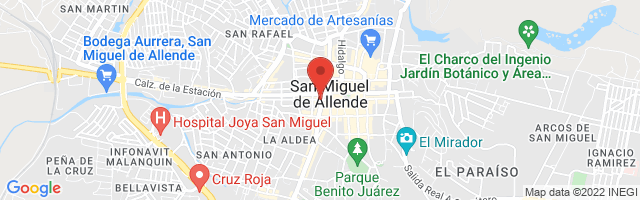 Property 3886 Map in San Miguel de Allende