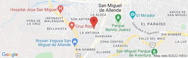 Property 3908 Map in San Miguel de Allende
