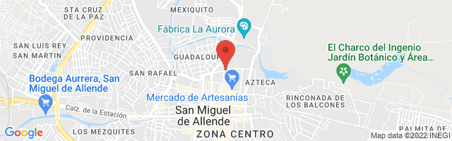Property 3952 Map in San Miguel de Allende