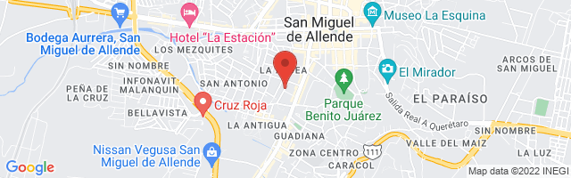Property 3980 Map in San Miguel de Allende